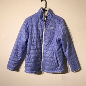The north face reversable winter coat women's